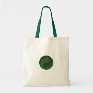 Vão as sacolas verdes sacola tote budget