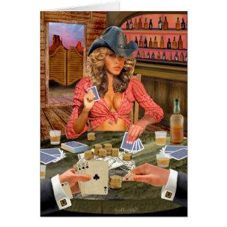 Vaqueira de Gamblin Cartão