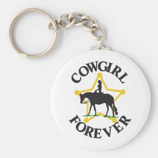 Vaqueira para sempre chaveiro