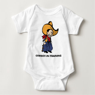 Vaqueiro Body Para Bebê