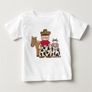 Vaqueiro de Lil Camiseta Para Bebê
