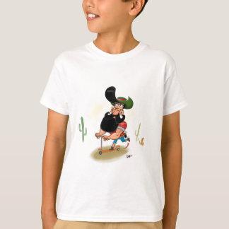 Vaqueiro do hipster camiseta