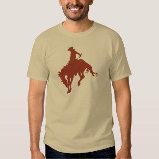 Vaqueiro do rodeio no Sienna Camisetas