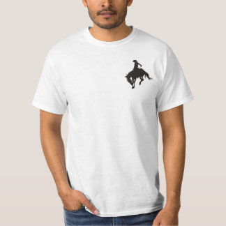 Vaqueiro do rodeio tshirt