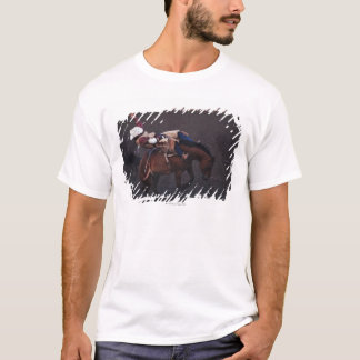 Vaqueiro em um rodeio 2 camiseta