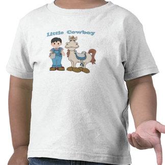 Vaqueiro pequeno camisetas