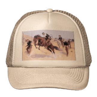 Vaqueiro que quebra o chapéu 1893 de Remington do  Boné