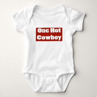 Vaqueiro quente body para bebê