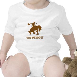 Vaqueiro Macacãozinhos Para Bebê
