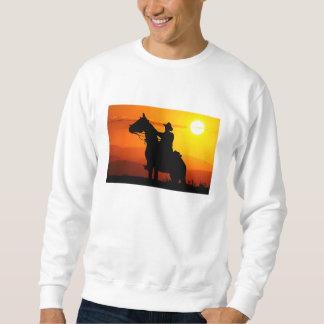 Vaqueiro-Vaqueiro-luz do sol-ocidental-país do por Moletom