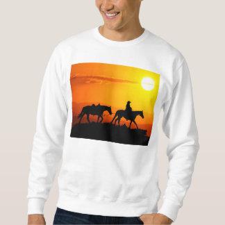 Vaqueiro-Vaqueiro-texas-ocidental-país ocidental Moletom