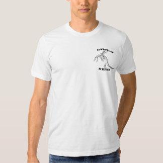 Vaqueiros da camisa da ciência t-shirt