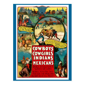Vaqueiros, vaqueiras - cartão