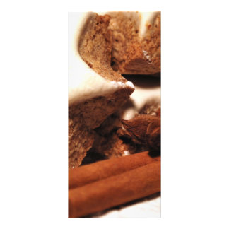 Varas de canela e biscoitos da estrela panfletos informativos personalizados