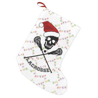Varas do Lacrosse do Natal Bota De Natal Pequena