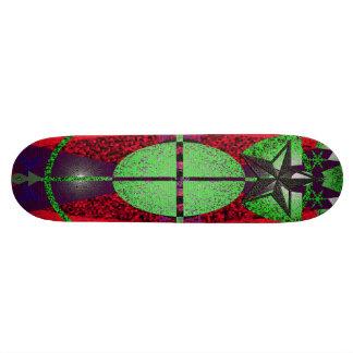 variação 1 do símbolo shape de skate 18,7cm