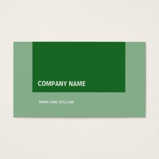 Variações de Moderno Empresa Forest Green Cartão De Visitas