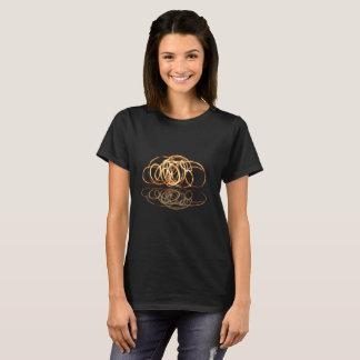 Varinha do fogo refletida - camisetas femininas