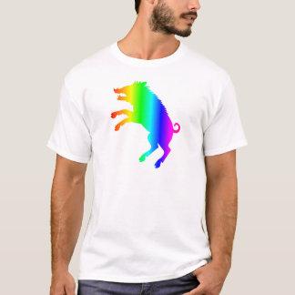 Varrão do arco-íris camiseta