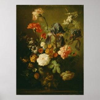Vaso das flores II Pôster