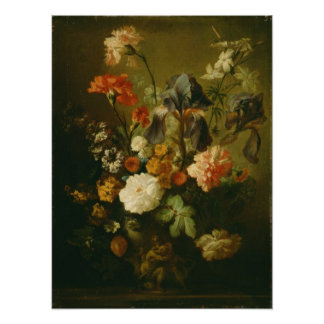 Vaso das flores II Poster