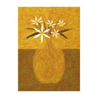 Vaso de flores brancas - VF-0001F