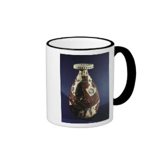 Vaso do estilo do Proto-Corinthian com uma esfinge Canecas