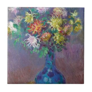 Vaso dos crisântemos Claude Monet