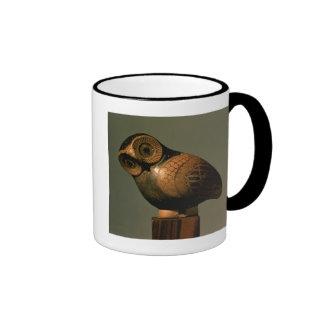 Vaso sob a forma de uma coruja, Proto-Corinthian Caneca