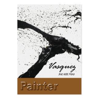 Vasquez - ilustrador corajoso do artista do pintor cartões de visitas