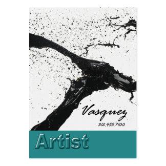 Vasquez - ilustrador corajoso do pintor do artista cartão de visita grande