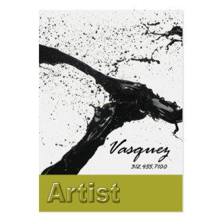 Vasquez - ilustrador corajoso do pintor do artista cartão de visita