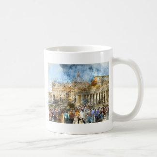Vaticano em Roma Italia Caneca De Café