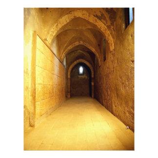 Vault em uma construção histórica do 15o centur panfleto personalizados