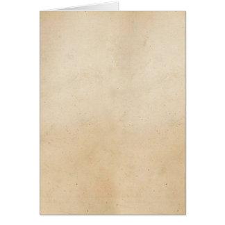 Vazio 1850 do modelo do papel de pergaminho do cartão de nota