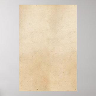 Vazio 1850 do modelo do papel de pergaminho do poster