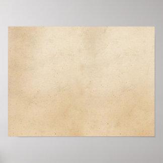 Vazio antigo de papel do modelo do pergaminho do pôster