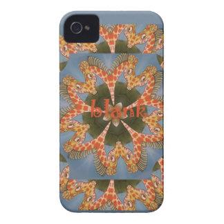Vazio colorido africano surpreendente bonito do capa para iPhone 4 Case-Mate