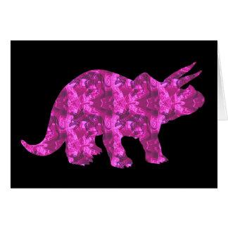 Vazio cor-de-rosa brilhante do cartão do