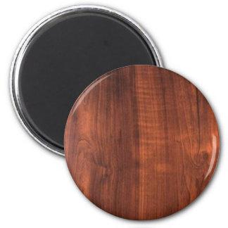VAZIO de madeira Blanc Blanche do COMPRAR do reves Ímã Redondo 5.08cm