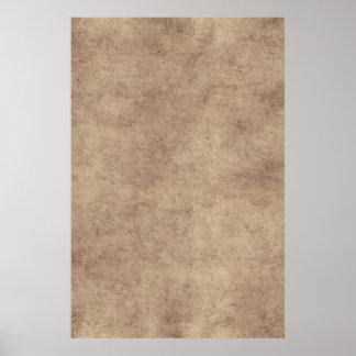 Vazio de papel do modelo do papel de pergaminho do pôster