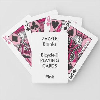 Vazio feito sob encomenda dos cartões de jogo do baralhos de poker