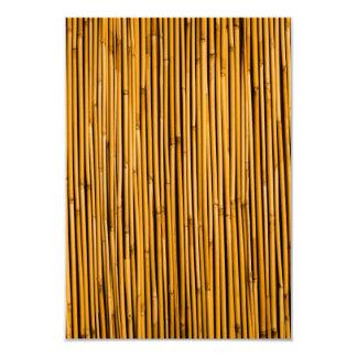 Vazio tropical da ilha do fundo de bambu tropical convite