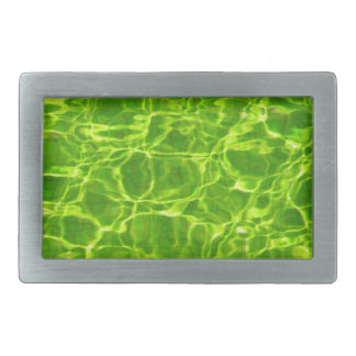 Vazio verde de néon do fundo dos padrões da água