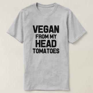 Vegan da camisa dos meus homens engraçados dos