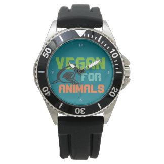 Vegan for de vez de ânus - Shark Relogio
