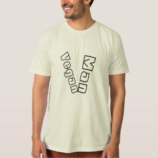 Vegan orgânico da camisa do Vegan