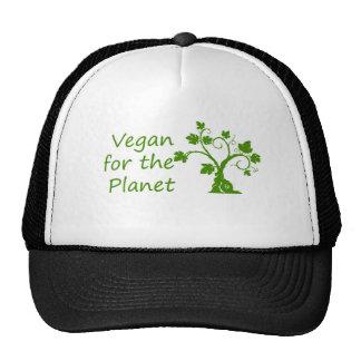 Vegan para o planeta boné