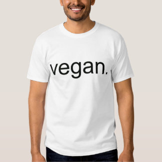 Vegan.  Período! Tshirts
