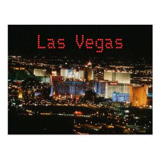 Vegas-Cartão de Las Cartão Postal
